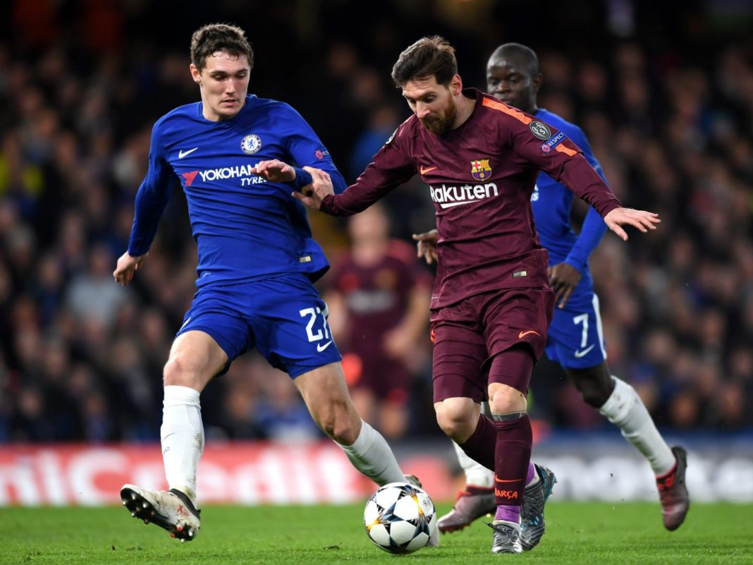Chelsea FC v FC Barcelona - UEFA Champions League Round of ...