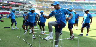 Fitness Test Before the Selection in Team India