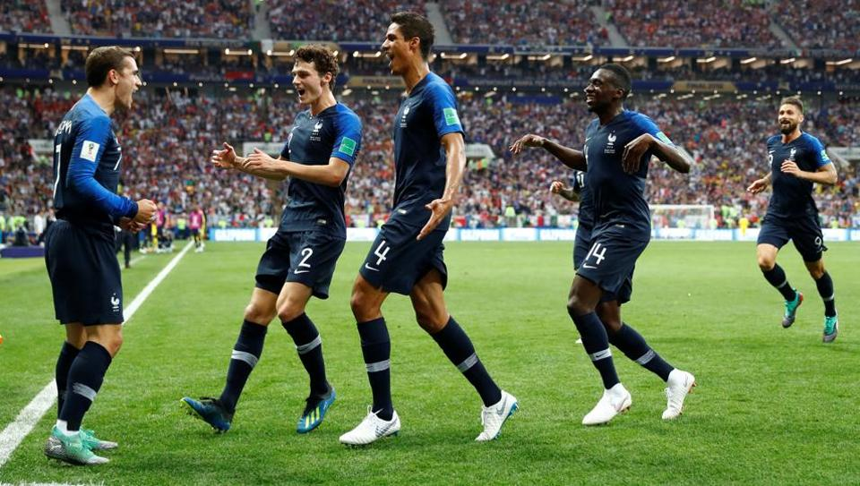France Crowned Champions