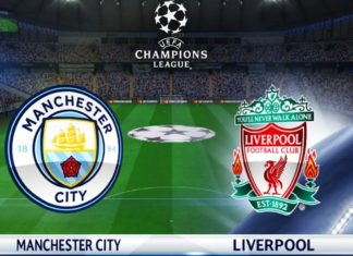 Manchester City vs Liverpool Champions