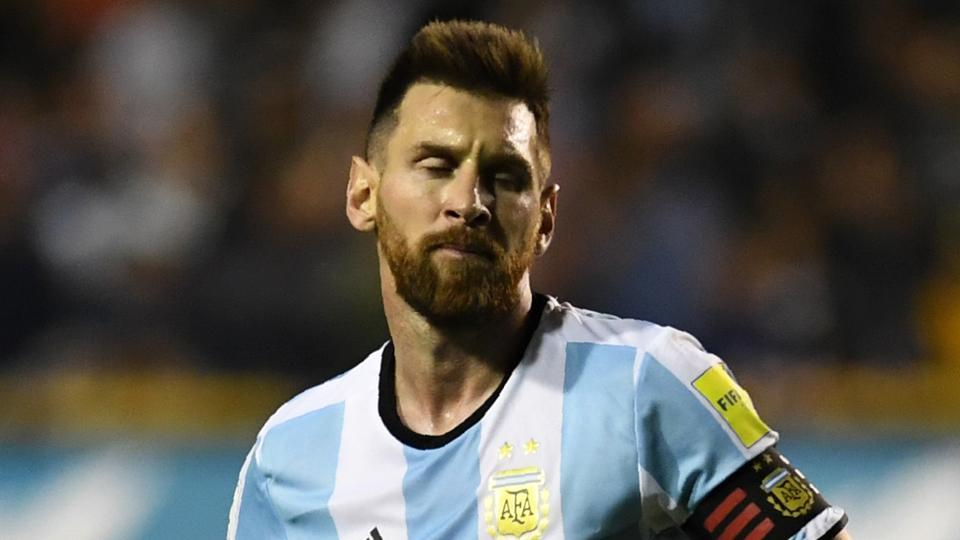Lionel Messi Lionel Messi couldn't perform according to expectations in FIFA World Cup 2018