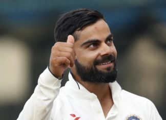 Test series against England